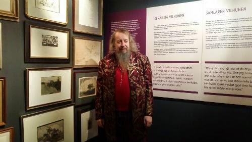 Leonardo da Vilhu on hullu keräilijä – video