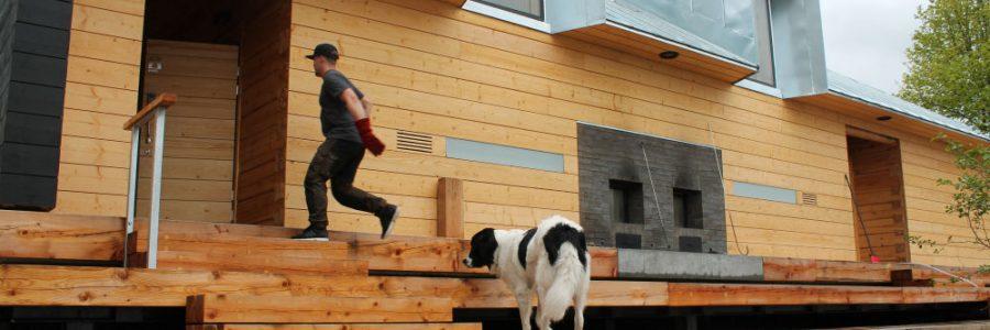 Testissä Lonnan uusi yleinen sauna