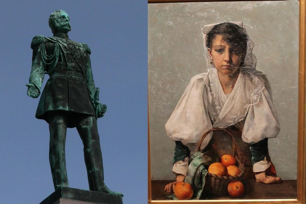 Mikä yhdistää Appelsiinityttöä ja Aleksanteri II:sta?