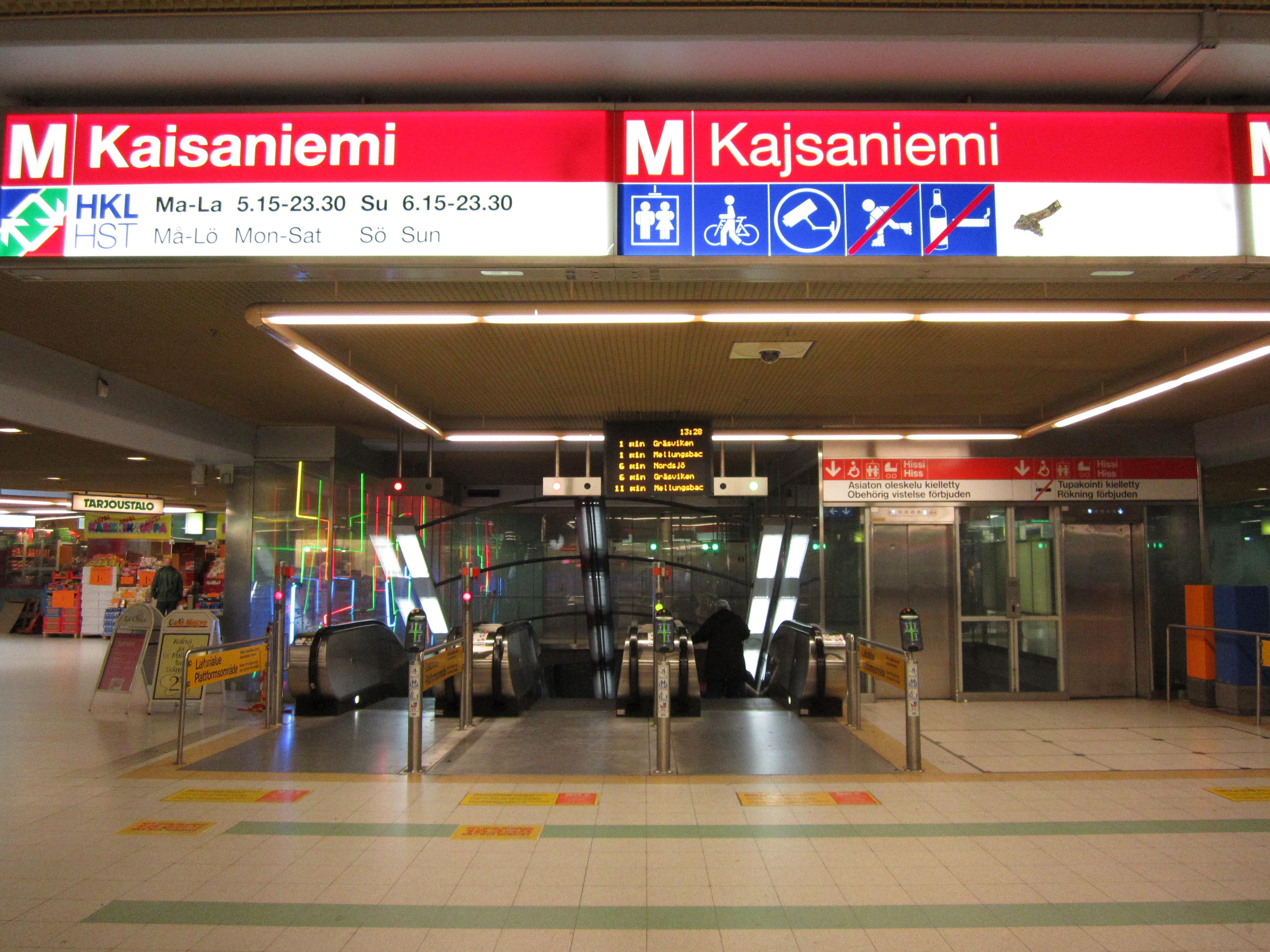 Miksi Kaisaniemen metroaseman nimi muutetaan?