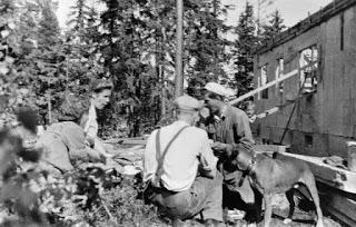 Ruonvastiketöitä Kivinokassa 1930-luvulla