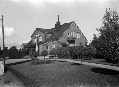 Asema vuonna 1956. Kuva: Constantin Grünberg, Helsingin kaupunginmuseo (Finna).