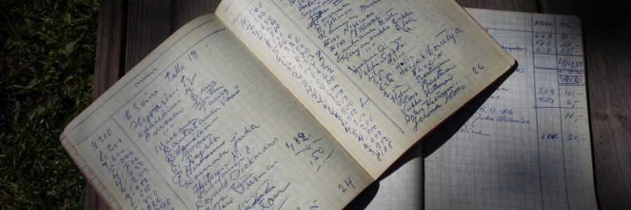 Kivinokan keräys tuotti lähes sata tonnia vuonna 1958
