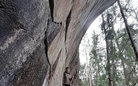 Retki Karkaliin ja Torholan luolalle